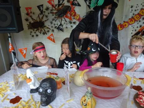 Halloween diner zomer 2016