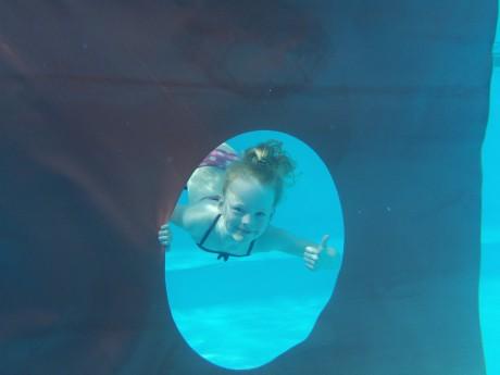 Onderwater foto Liz Peeters