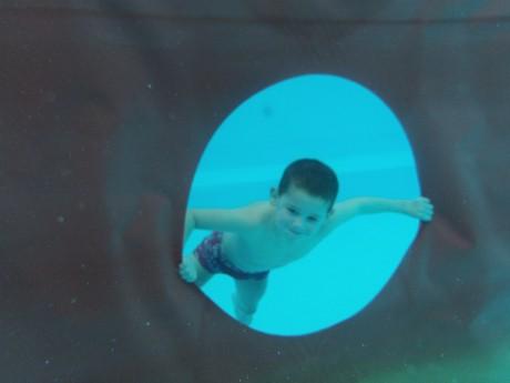 Onderwater foto Kyan Jongen