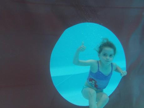 Onderwater foto Joëlle Janssen