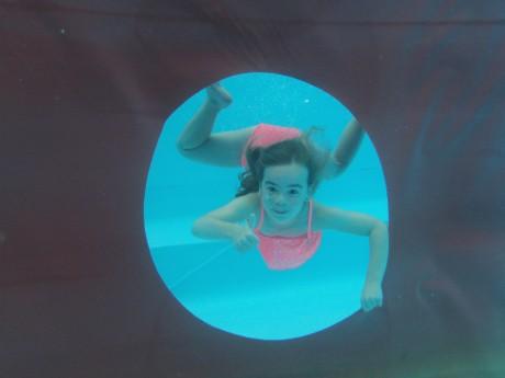 Onderwater foto Isis Verstappen