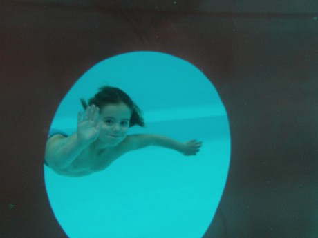 Onderwater foto Dana Kierkels