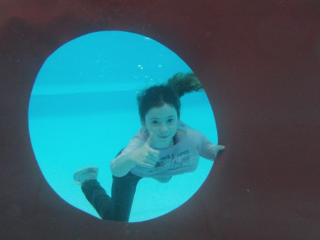 Onderwater foto Fleur van Bree
