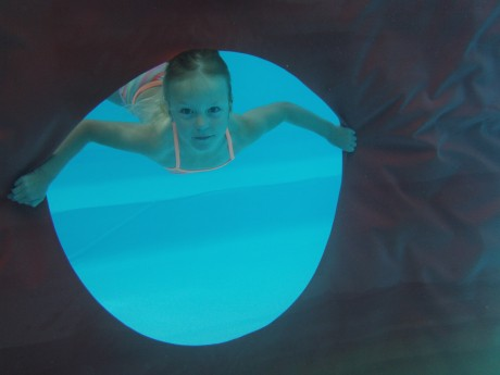 Onderwaterfoto Lynn Boots
